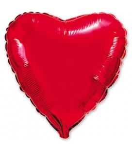 Шар Сердце большое 32 дюйма (82 см)