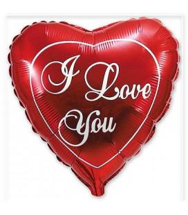 Шар в сердца I love you 24 дюйма (61 см)