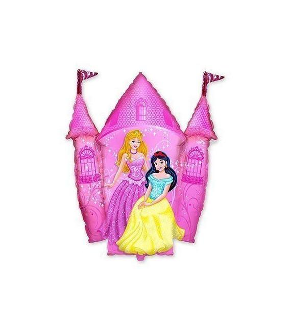 Шар замок с принцессами 78х85 см