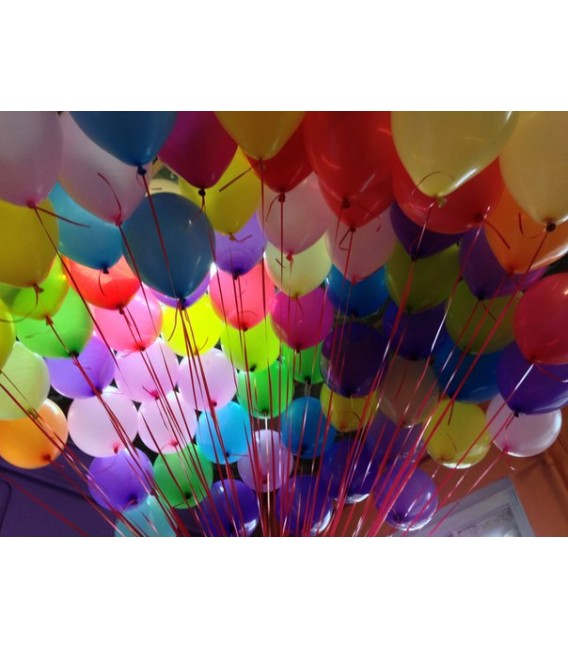 Облако из 50 шаров Пастель ассорти