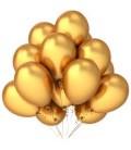 Облако из 30 шаров Металлик Золото
