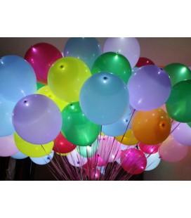 Облако из 30 светящихся шаров