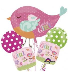 "Облако ""Птичка baby Girl"""