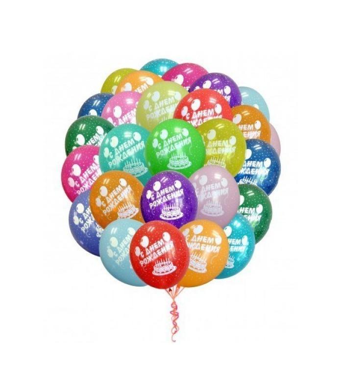 Открытки с днем рождения шары фото
