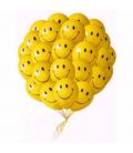 Облако из 30 шаров Улыбки ассорти