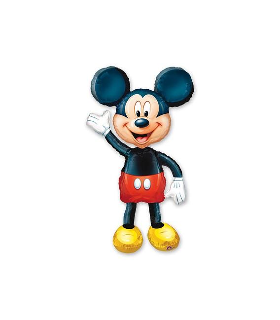 Шар ходячая фигура Микки Маус 96х134 см