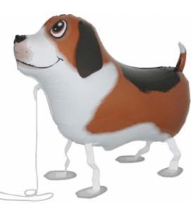 Шар ходячая фигура Собака 60х40 см