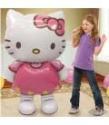 Шар ходячая фигура котенок Китти высота 127 см.