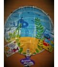 Шар наклейка подводный мир 18 дюймов (46 см)