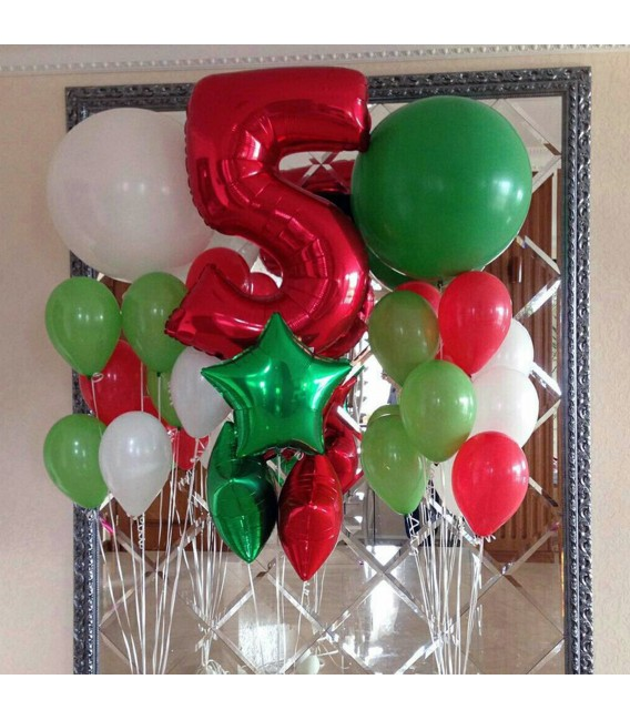 Фотозона Абхазия из 21 шарf ассорти
