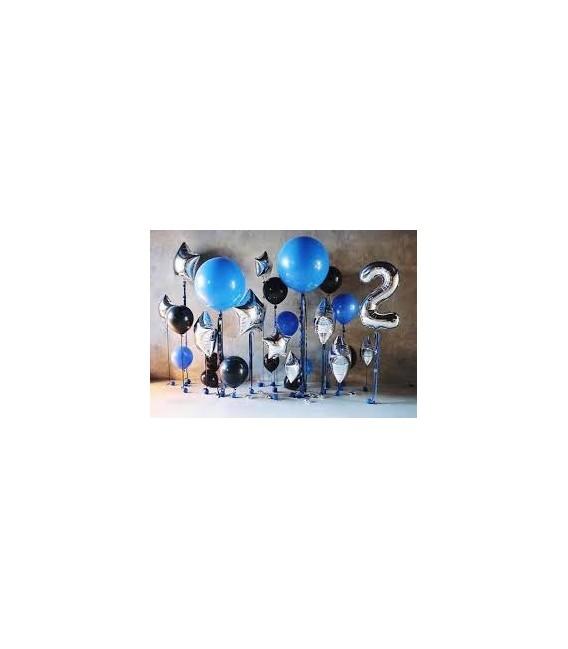 Фотозона Звездное небо ассорти из 33 шаров