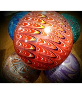 Гелиевый шарик Павлин 22 дюйма (55 см) ассорти