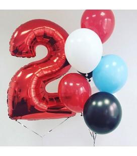 Набор из 8 шаров Поздравляю