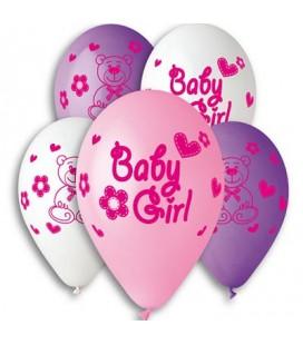 Шарик BABY GIRL 14 дюймов (35 см)