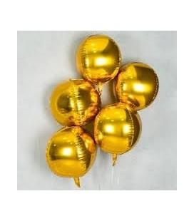 Шар Сфера золото 16 дюйма (41 см)