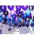 Набор шаров под потолок 100 шт. Ультрафиолет 12 дюймов (30 см)