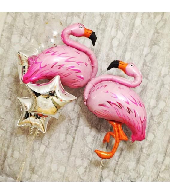 Набор из двух фонтанов 5 шаров Влюбленные Фламинго