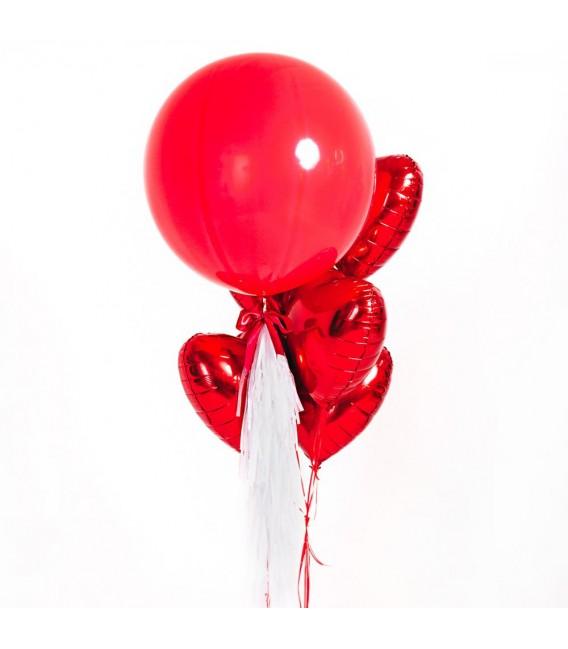 Набор из 5 шаров Большая любовь