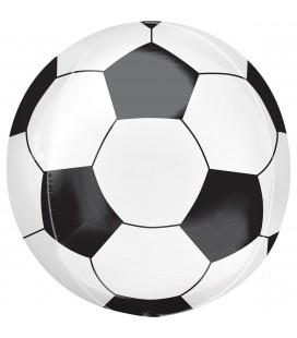 Фольгированная фигура футбольный мяч круглый 69х69 см