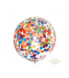 Большой шар Конфетти ассорти 18 дюймов (50 см)