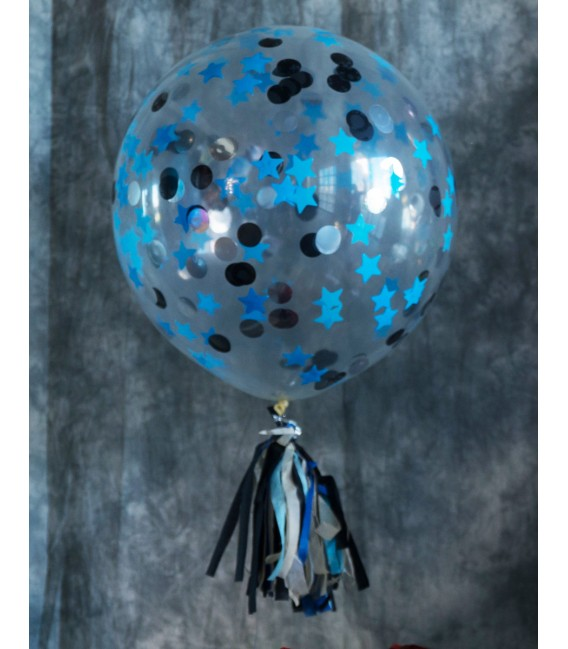 Большой шар Конфетти 18 дюймов (50 см)