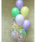 Фонтан из 13 шаров Комплиментик