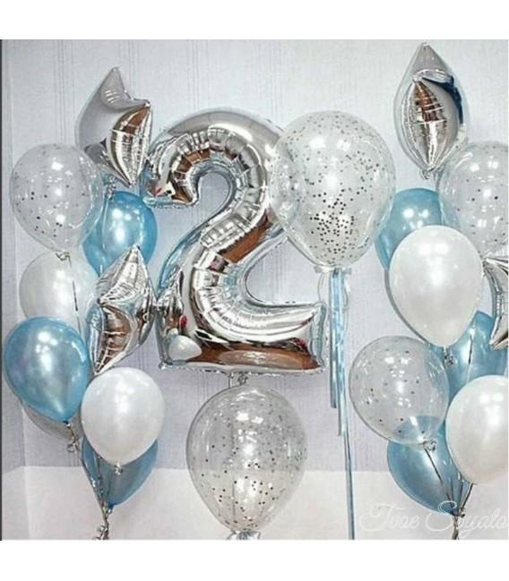 Фотозона Хрусталь из 21 шара