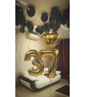 Набор из 33 шаров Поздравляю