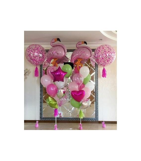 Фотозона Тропический Фламинго