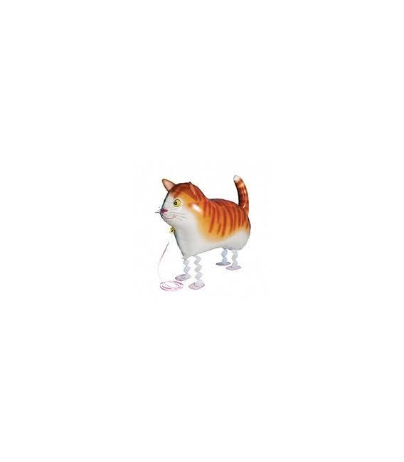 Шар фольгированная ходячая фигура Кот 59х40 см