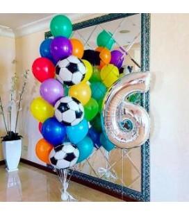 Набор из 23 шаров Футбольный ассорти