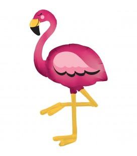 Шар ходячая фигура Фламинго 86х172 см.