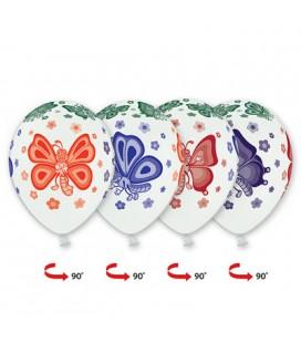 Шарик Бабочки 14 дюймов (35 см)