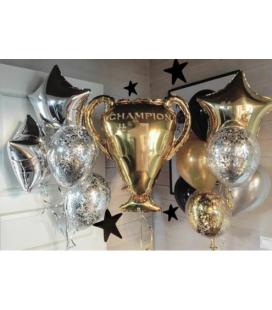 Фотозона из 15 шаров Чемпион