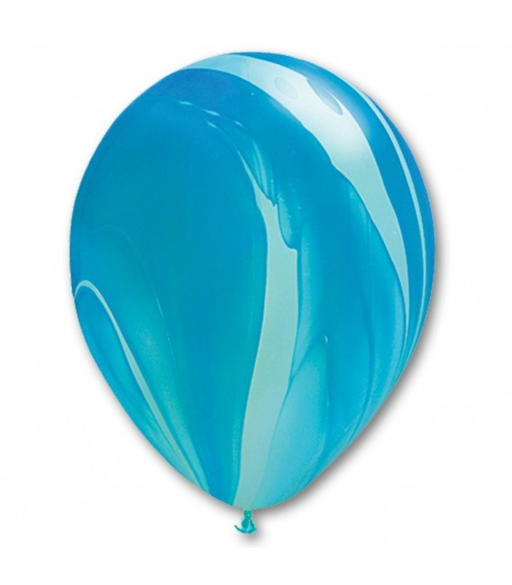 Шарик Агат голубой 12 дюймов (30 см)